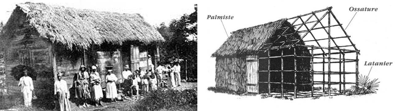 4 mots en créole haitien qui proviennent de l'époque coloniale lakay